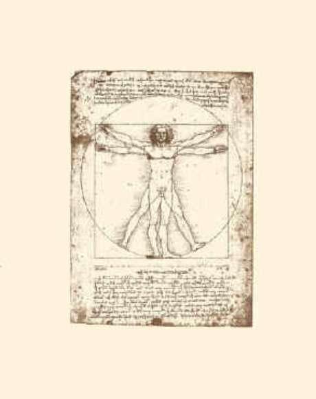O Homem é o centro de tudo (L. da Vinci)