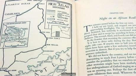 A única evidência da localização de Idihr é um esboço de mapa em um livro escrito por um dos estudantes de Oxford, Bryan Clarke