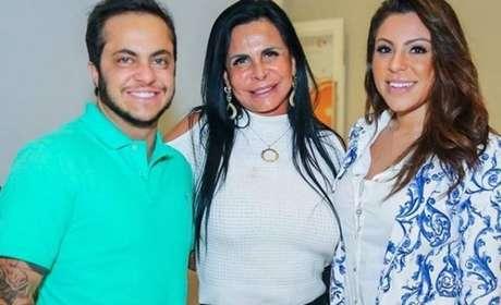 Thammy Miranda, Gretchen e Andressa Ferreira.