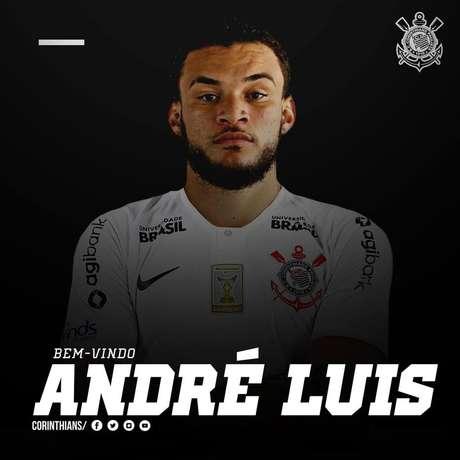 André Luis assinou por quatro temporadas.