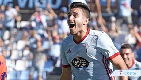 Atacante marcou 7 gols na atual edição da La Liga (Foto: Divulgação/Celta de Vigo)