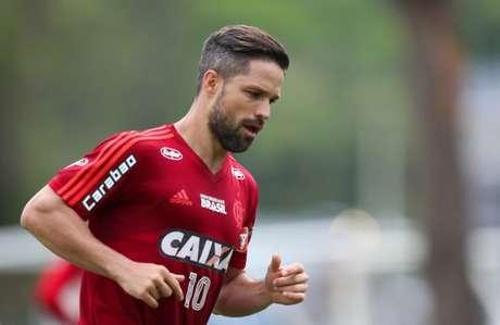 Em 2019, Diego disputará sua quarta temporada como jogador do Rubro-Negro (Foto: Gilvan de Souza/Flamengo)