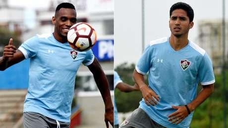 Digão e Julião terminaram bem o ano no Fluminense (Foto: MAILSON SANTANA/FLUMINENSE FC.)