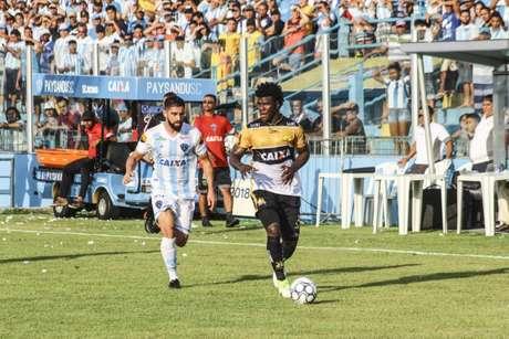 Criciúma pode renovar com três jogadores para 2019 (Foto: Divulgação/Paysandu)
