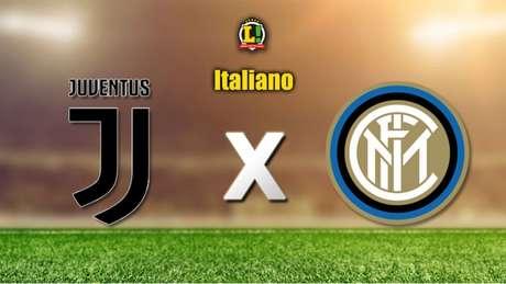 Juventus recebe a Inter de Milão no Allianz Stadium, em Turim