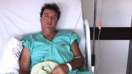 Cuca passou por um procedimento cirúrgico no coração nesta quinta-feira, em Curitiba (Foto: Arquivo Pessoal)
