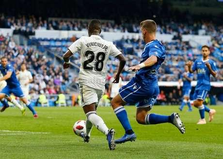 Vinicius foi um dos melhores em campo (Foto: Real Madrid)