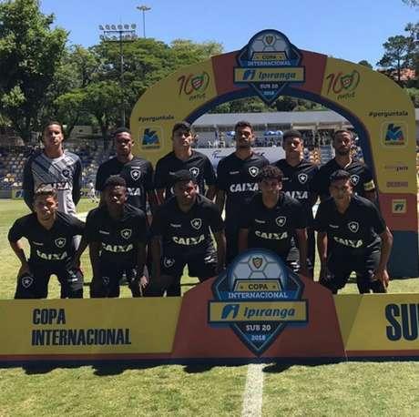 Botafogo empatou o jogo já na etapa final (Foto: Reprodução / Instagram)