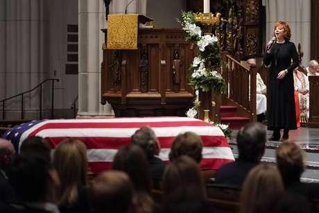 Bush morreu na última sexta-feira (30)