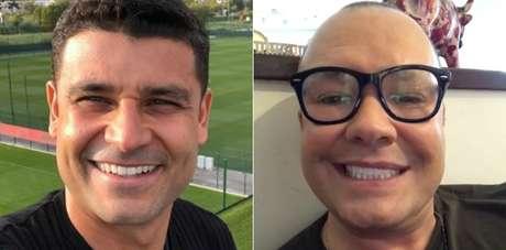 O jogador Ederson e o jornalista Felipeh Campos compartilharam a luta contra o câncer de testículo na intenção de conscientizar os homens sobre a doença