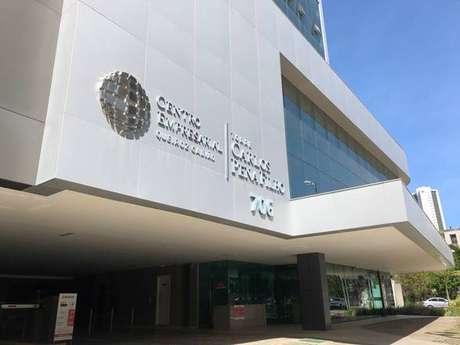 Prédio que abriga a nova sede do Consulado da Itália em Recife