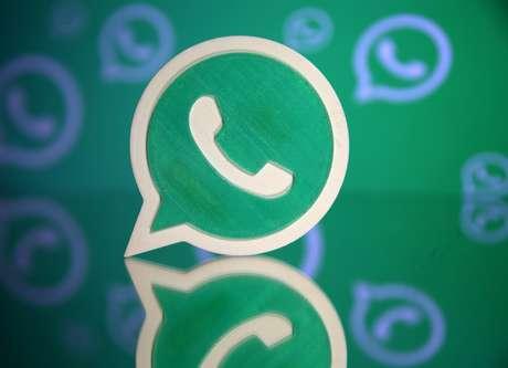 Logo do WhatsApp em impressão 3D em foto ilustrativa 17/09/2017 REUTERS/Dado Ruvic