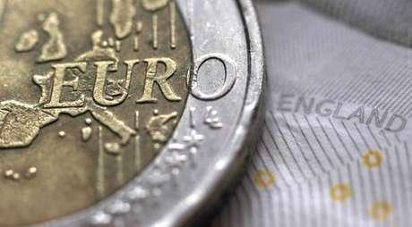 Moeda de euro 16/03/2016REUTERS/Phil Noble