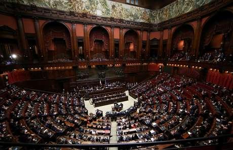 Câmara dos Deputados em Roma   24/3/2018   REUTERS/Tony Gentile