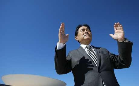 Deputado Hidekazu Takayama, presidente da Bancada Evangélica (05/07/2018)