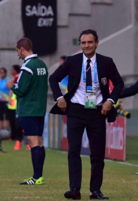 Prandelli levou a Itália à final da Eurocopa de 2012 (Foto: GIUSEPPE CACACE / AFP)
