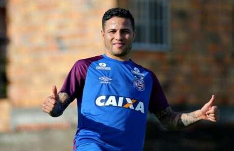 Bruno ficará sem contrato no fim de 2018 (Foto Felipe Oliveira / EC Bahia)
