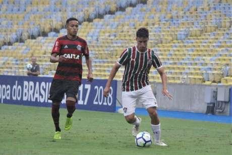Martinelli marcou o gol do Fluminense no Maracanã (Foto: Luis Miguel Ferreira / Agência TFFA)