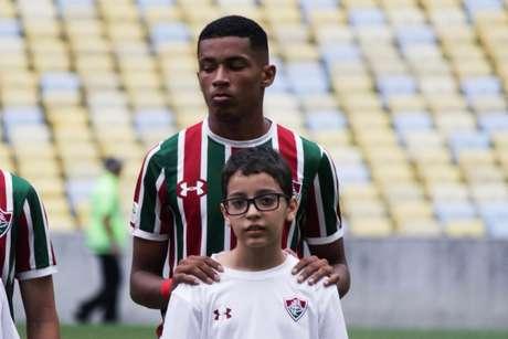 Marcos Paulo estreou no Maracanã (Foto: Luis Miguel Ferreira / Agência TFFA)