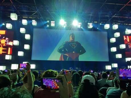 Painel celebrou os 80 anos do Superman
