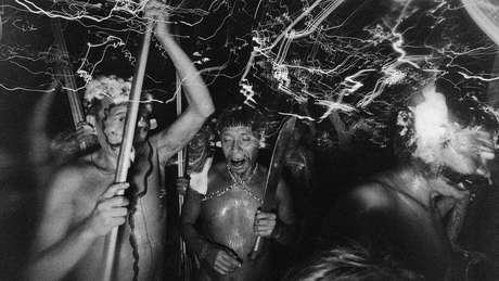 Fotografia que faz parte da série feita em Catrimani, em Roraima, em 1974