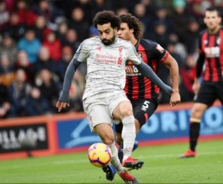 Salah foi o grande destaque da partida