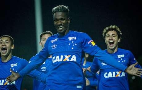 Marcelo fez o gol que ajudou na classificação do sub-20 da Raposa- Divulgação Cruzeiro