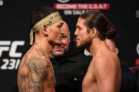 Max Holloway e Brian Ortega prometem um grande duelo na luta principal da noite (Foto: Getty Images/UFC)