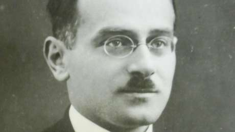 Ceslau Biezanko em foto de 1920; intelectual veio ao Brasil enviado pelo governo polonês   Imagem: Rhuan Trindade/Acervo de Edmundo Gardolinski