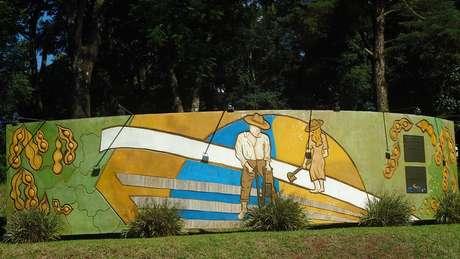 Memorial da Soja em Santa Rosa; cidade gaúcha ganhou o título de 'Berço Nacional da Soja'   Foto: Prefeitura de Santa Rosa