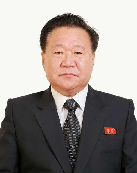 Choe Ryong Hae, assessor próximo do líder norte-coreano, Kim Jong Un 10/05/2016 KCNA/via REUTERS
