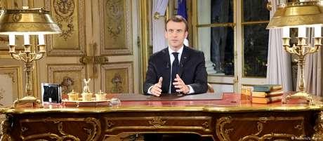 """""""Entendo que possa ter frustrado alguns com minhas propostas"""", disse Macron"""