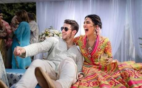 Nick Jonas e Priyana Choka.