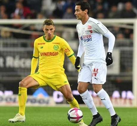 Ganso em ação pelo Amiens (Foto: Reprodução / Instagram Oficial do Atleta)