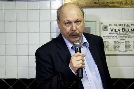 Presidente do Santos nega mais dois nomes no Santos (Foto: Pedro Ernesto Guera Azevedo/Santos)