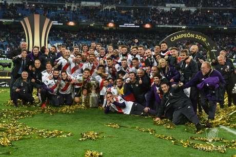 River Plate conquistou a Copa Libertadores em 2015 e 2018 (Foto: Reprodução)