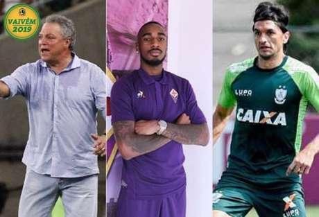 Abel Braga, Gerson e Matheus Ferraz (Foto: Divulgação)