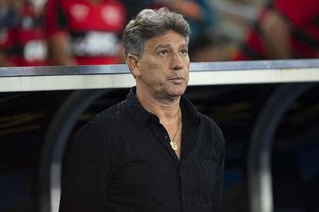 Renato Portaluppi Gaúcho durante Flamengo x Grêmio