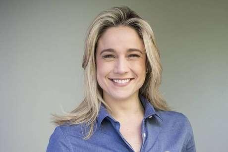 A apresentadora da TV Globo Fernanda Gentil.