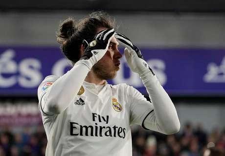 Gareth Bale durante partida pelo Real Madrid