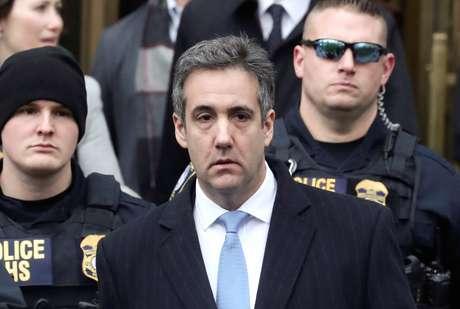 Michael Cohen deixa tribunal em Nova York   12/12/2018   REUTERS/Shannon Stapleton