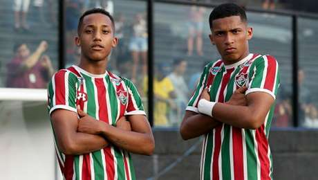 Marcos Paulo e João Pedro estarão nos profissionais em 2019 (Foto: Divulgação/Fluminense)
