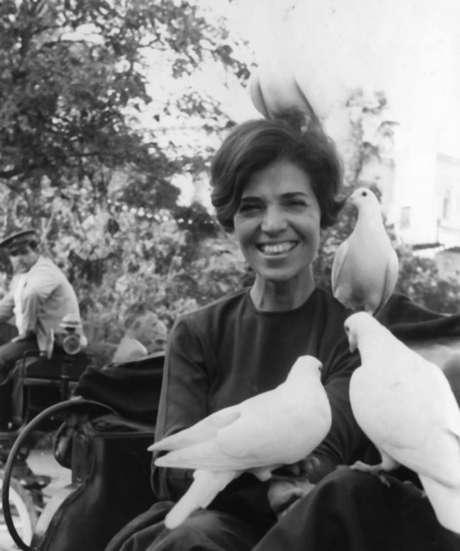 Eunice Paiva, uma das protagonistas do movimento por investigações de desaparecimentos no regime militar no Brasil após a morte do marido, o deputado cassado Rubens Paiva
