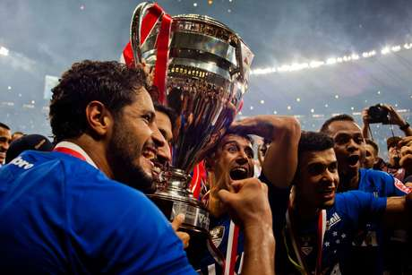 O Cruzeiro venceu o seu rival Atlético-MG na final do Campeonato Mineiro de 2018; foi o 37º título estadual do clube