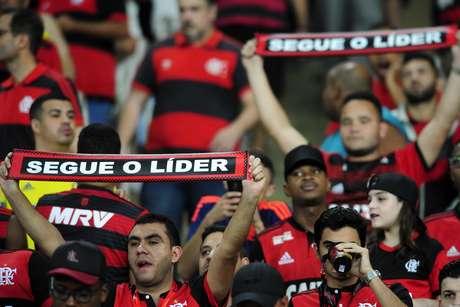 O Flamengo liderou o Campeonato Brasileiro de 2018 da 7ª rodada até a 17ª
