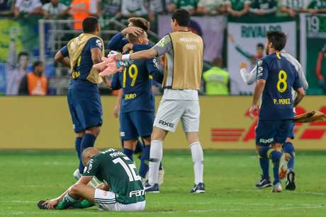 O Boca Juniors eliminou o Palmeiras em pleno Allianz Parque na fase semi-final da Libertadores 2018: 4 a 2 no placar agregado