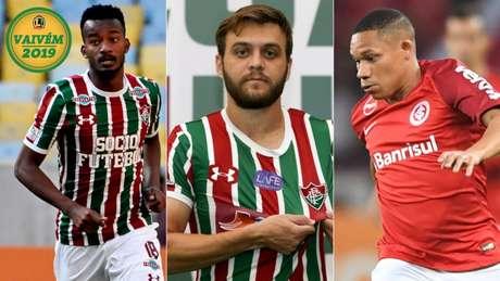 Jogadores emprestados estão definindo seu futuro no Fluminense (Foto: Divulgação)