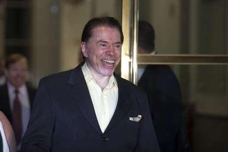 O empresário e apresentador de TV Silvio Santos