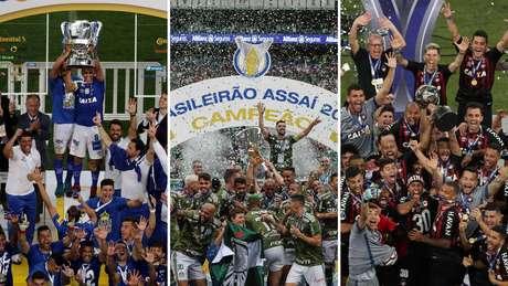 Em competições nacional, o Cruzeiro foi campeão da Copa do Brasil, e o Palmeiras foi campeão do Brasileirão; em solo internacional, o Atlético-PR venceu a Copa Sul-Americana