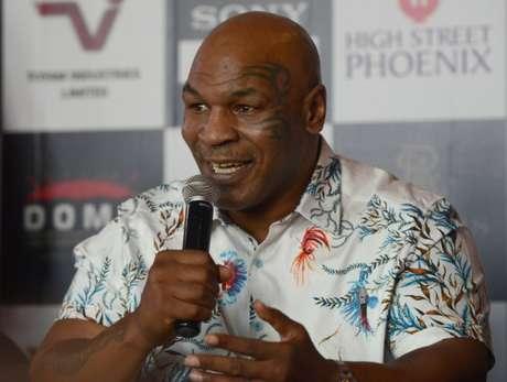 Mike Tyson admitiu ter usado maconha antes de luta em 2000 (Foto: AFP)
